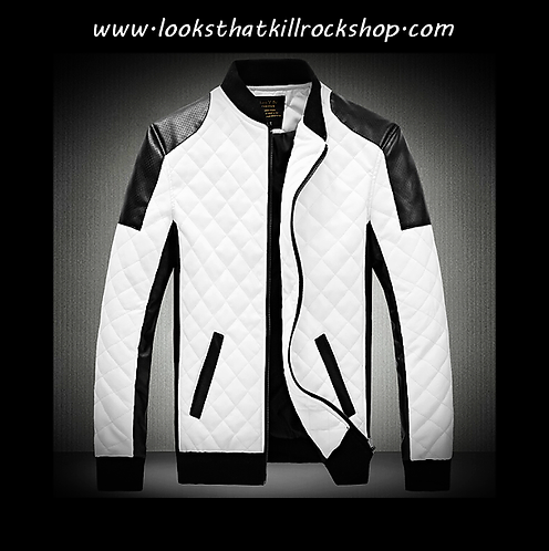 """Nikki Sixx Style """"Sixx Series"""" Racing Jacket"""