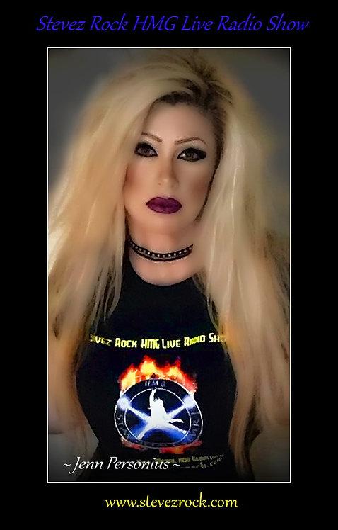 Stevez Rock HMG Live Radio Show Crew Shirt