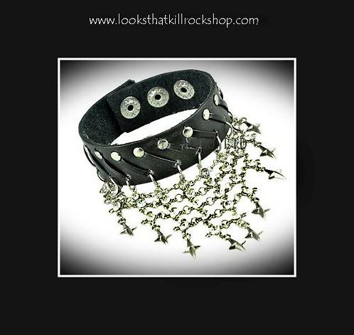 "Sixx AM ""Stars"" Shower  Bracelet"