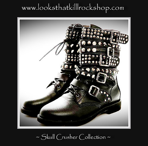 Hot New Rocking Skull Crusher Boots