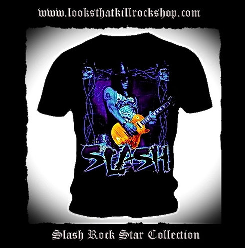 Hot New Slash Rock Star Collection TShirt