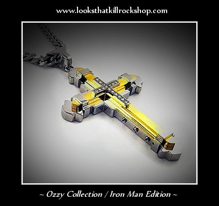 Hot Ozzy Style Collection Cross Iron Man Edition