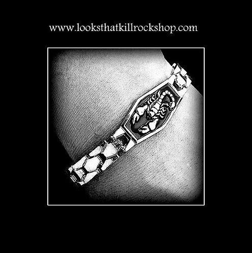 """Killer """"Scorpions"""" Stainless Steel Bracelet"""