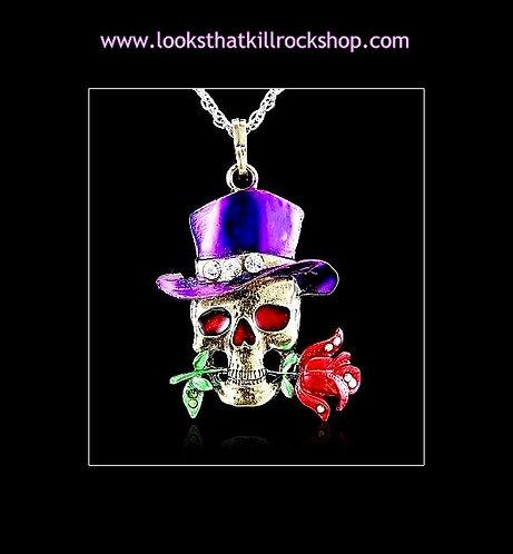 "Skull Crusher GnR ""Slash"" Necklace"