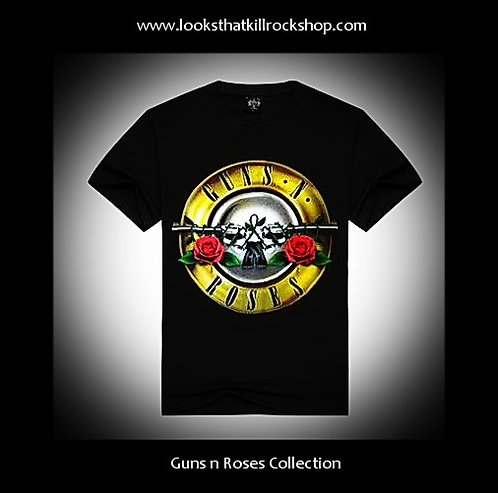 Classic Guns n Roses Concert T Shirt
