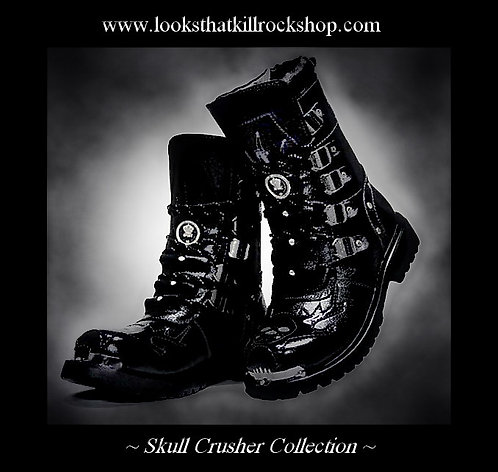 Skull Crusher Motorcycle Stage Boots