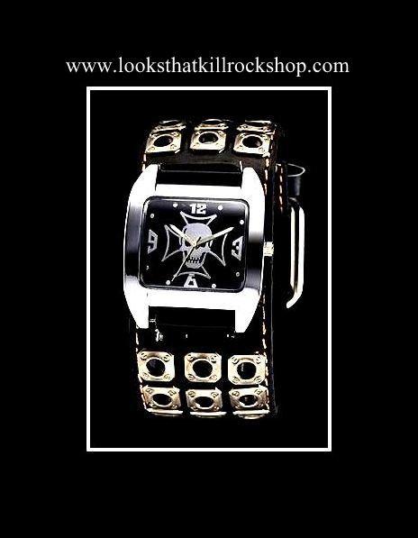 Skull Crusher Series Retro Watch Rock Wear