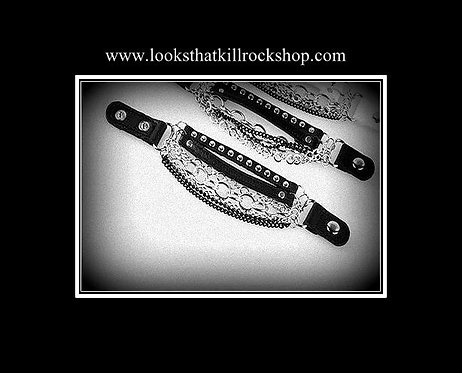 """Looks That Kill"" Multi Chain Women's Bracelet"