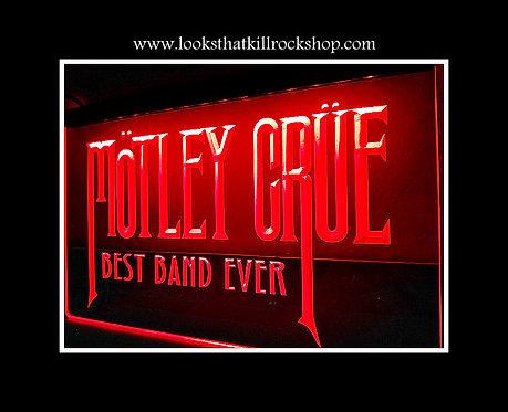 "Rocking ""Motley Crue"" Neon Bar Sign"