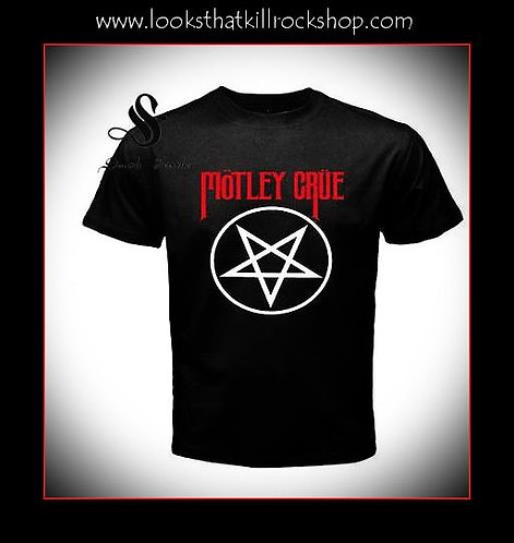 Motley Crue Iconic Shout At The Devil T-Shirt