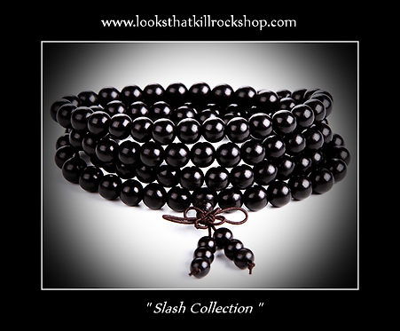 "New ""Slash Collection"" Wooden Beads Bracelet"