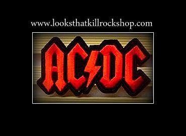 AC/DC Logo Jean Patch