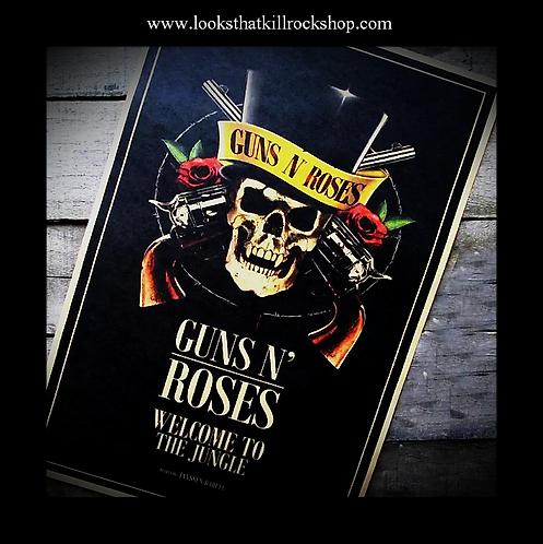 Killer Guns n Roses Bar Poster