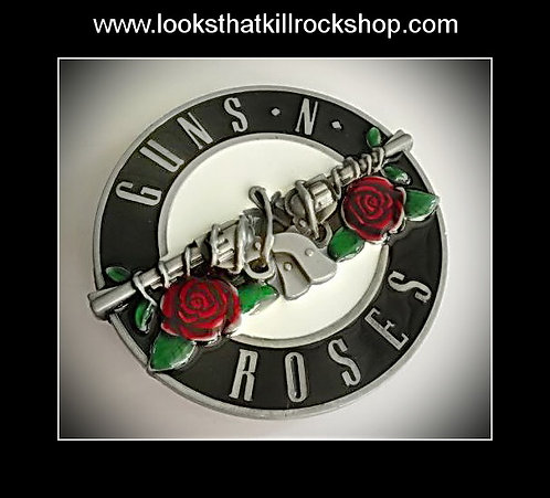 Amazing Guns n Roses Belt Buckle