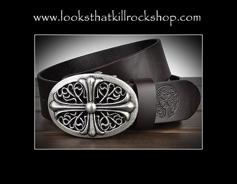 Nikki Sixx Style Final Tour Belt Buckle