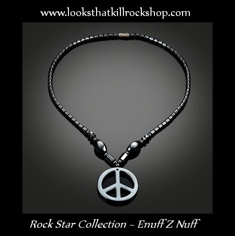 Rock Star Collection Chip Znuff of Enuff Z Nuff Logo Necklace