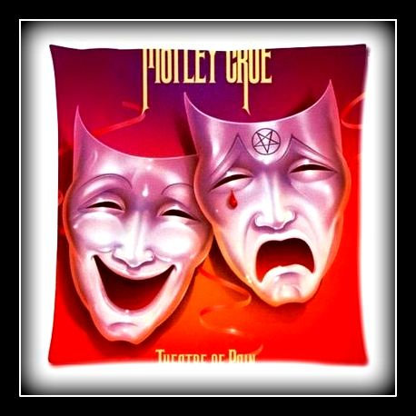 """Motley Crue """"Theater of Pain"""" Pillow Case"""