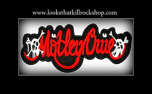 Motley Crue Logo Embroidered NEW Iron or Sew