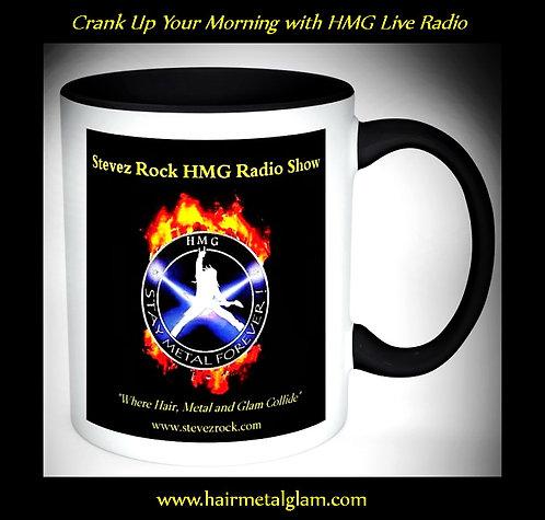 HMG Live Radio Show and Looks That Kill Rock Shop Coffee Mug