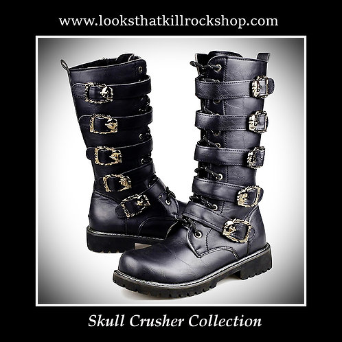 Hot New Skull Crusher Stage Motorcycle Boots