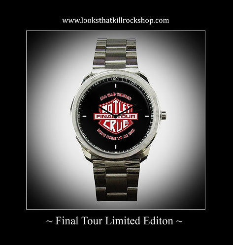 Limited Edition Motley Crue Final Tour Watch