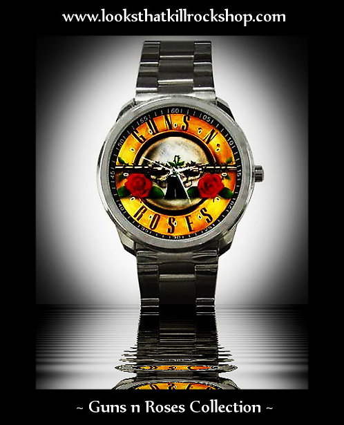 Hot~! Guns n Roses Commemorative Sport Watch