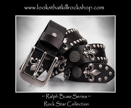 "Our New ""Fluer De Lis"" Belt from our Ralph Buso Series"