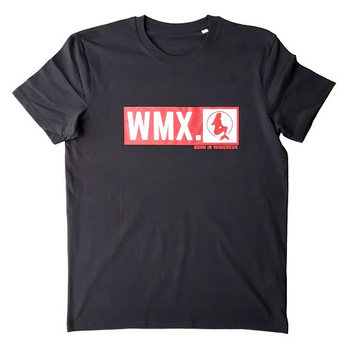 T-shirt Born in Wimereux Noir