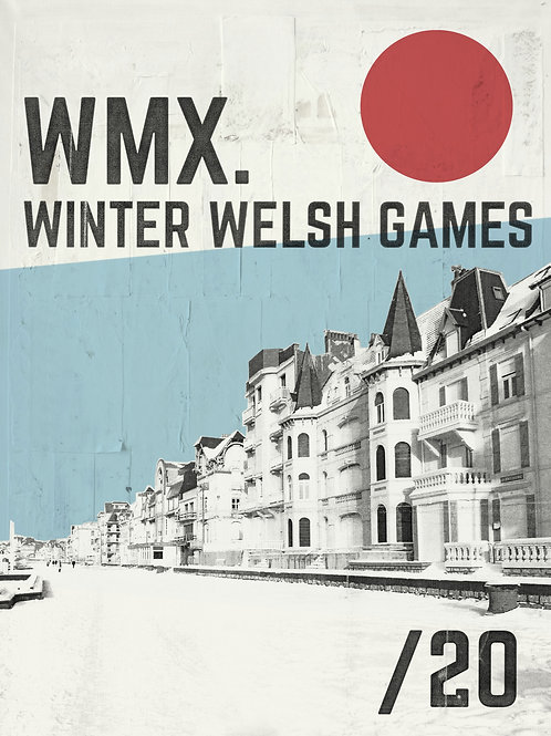 WINTER WELSH GAMES 30x40cm
