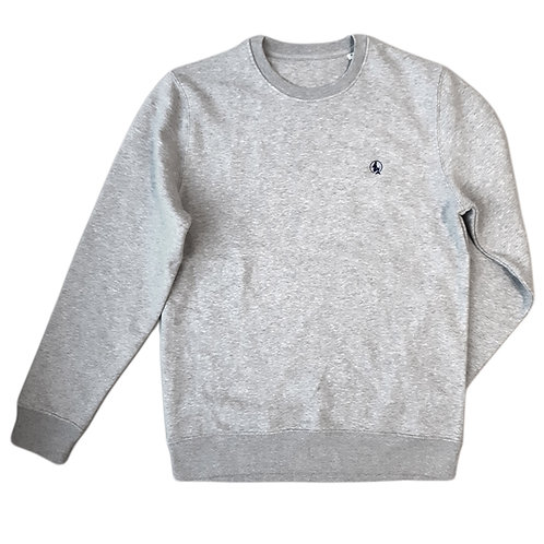 Sweatshirt gris chiné