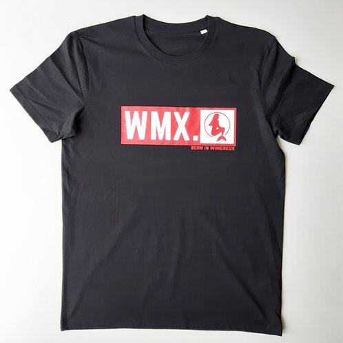 T-shirt Born in Wimereux Noir