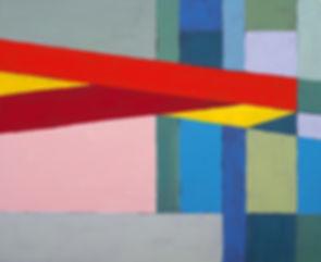 カラーブロックの絵画