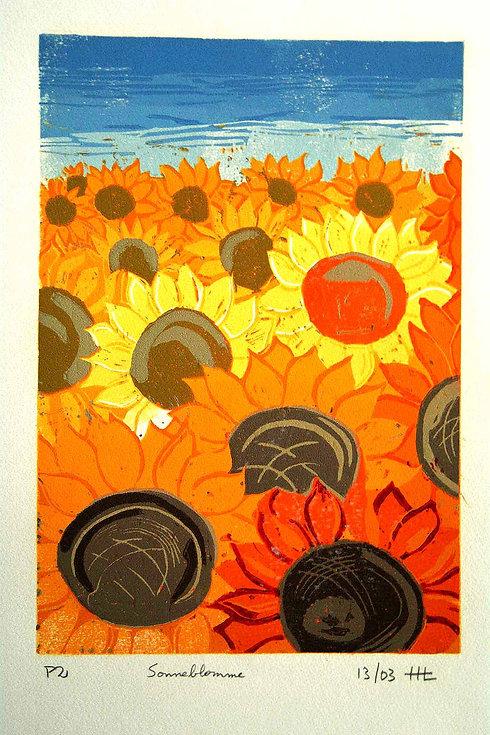 F R Lino  Sunflower.jpg