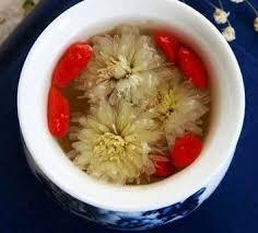Chrysanthemum Flower and Goji Berry Tea