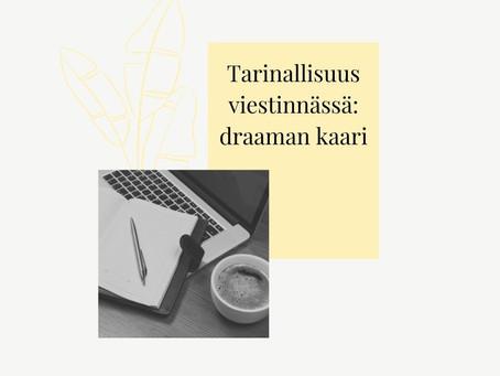 Tarinallisuus viestinnässä: draaman kaari yritystarinan työkaluna