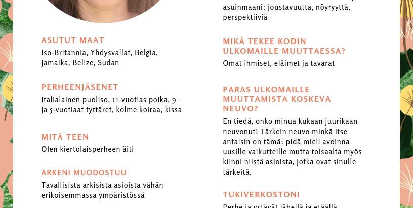 EXPAT-PUOLISON NÄKÖKULMA: AJATUKSIA SAHARAN REUNAMILTA - KATARIINA LENSUN SUDAN