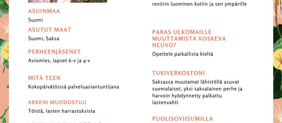EXPAT-PUOLISON NÄKÖKULMA: JENNI NURMEN DÜSSELDORF-VUODET