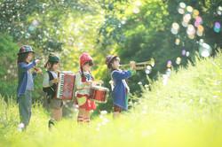 children musician