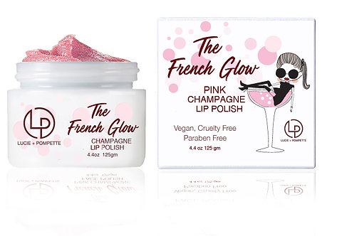 The French Glow - Pink Champagne Lip Polish