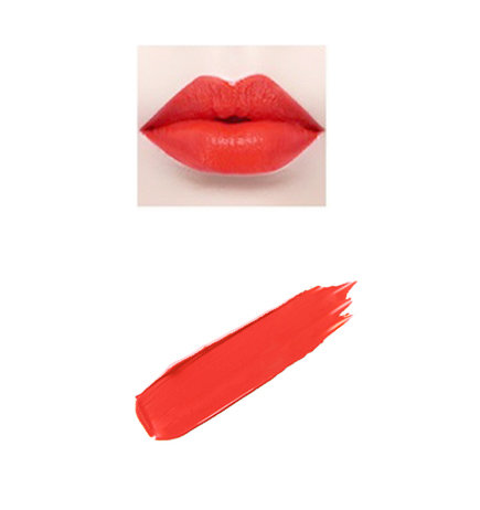 Creme de Paris- Cha Cha (Matte Orange Red)