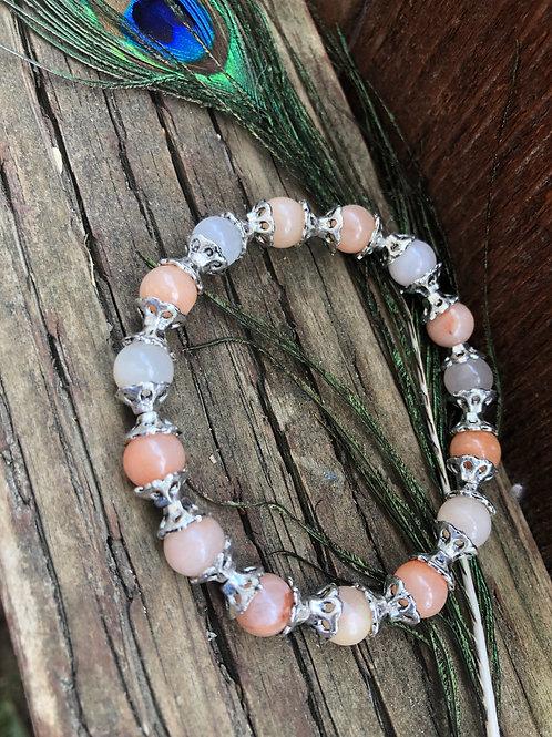 Peach Earthy Elegant Bracelet