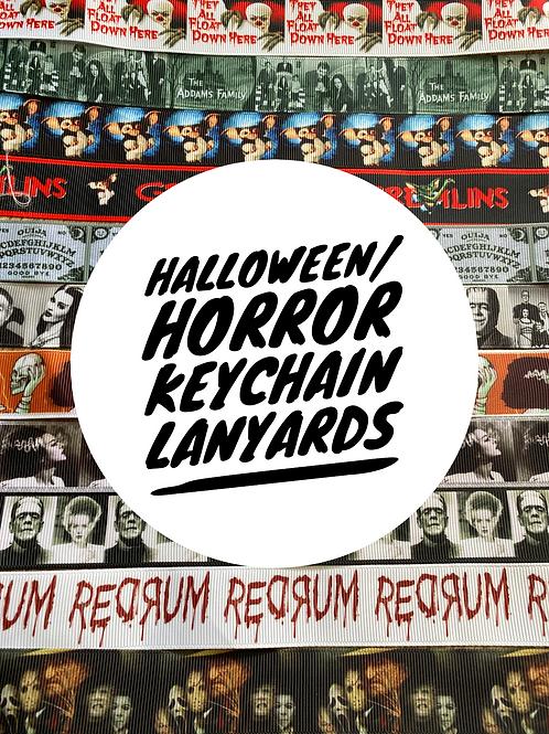 Halloween / Horror Wristlet Keychain Lanyards