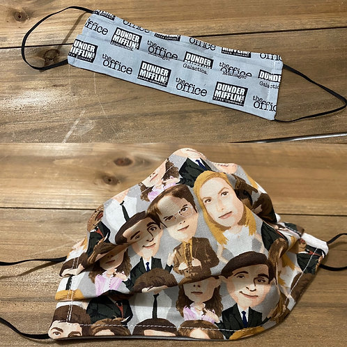 The Office Reversible Face Mask Adult Small