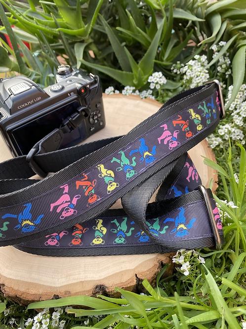 Grateful Dead Adjustable Camera Strap or Custom Made