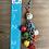 Thumbnail: Colorful Mini Skull Chain Earrings