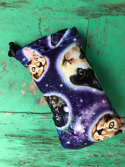 Cats in Space Padded Bag