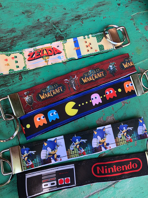 Video Game Keychain Lanyards