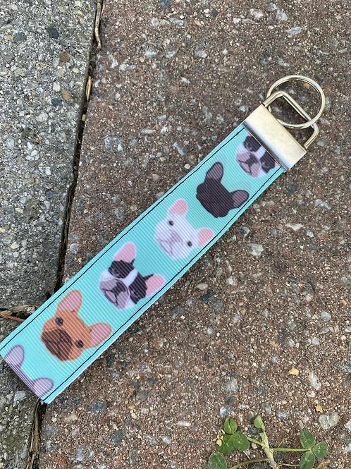 French Bulldog Keychain Lanyard