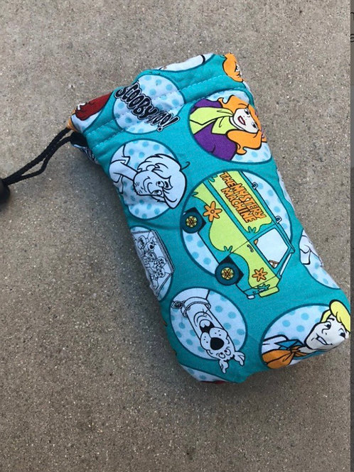 Scooby doo Padded Drawstring Pipe Bag (7x4)