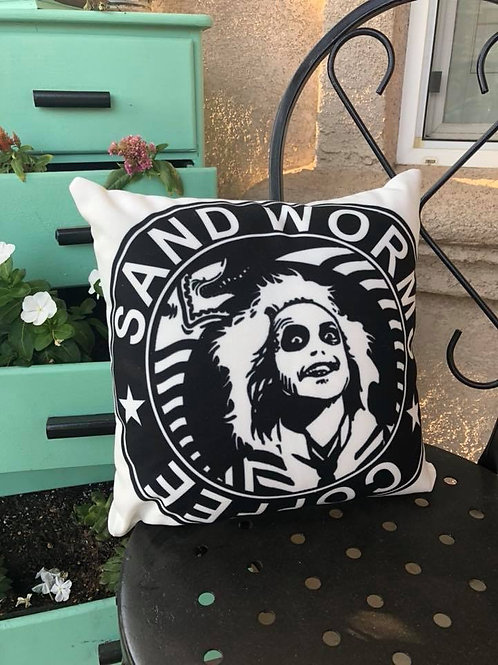 Sandworms Coffee Pillow
